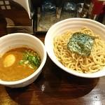 67088774 - ベジポタ味玉入り辛つけ麺