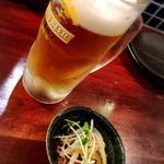 マゴコロ - 瓶ビールではなく(*′ω`)b