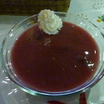 67089772 - ダークチェリーの冷たいスープ