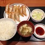 67091187 - 大盛ぎょうざ定食(545円)