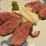 鴨料理 呂尚 - 鴨焼き