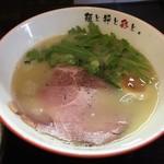 67091842 - 鶏白湯塩らーめん(780円)