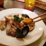 ベイサイドレストラン&バー R-10 - 2017/2/16  これだけ入ってるから満足