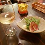 ベイサイドレストラン&バー R-10 - 2017/2/16  グラスワインの白  !