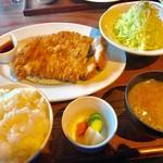 67092541 - カツレツコース(特ロースカツ)【料理】