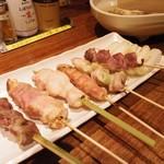 一翠 - おまかせ串焼き7本盛り