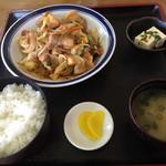 はねやま - スタミナ定食=950円