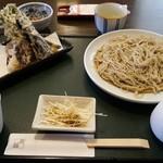 手打ち蕎麦 無垢 - 天ぷらそば
