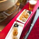 67096086 - 食べくらべ串、おつまみセット