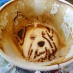 キャス・カフェ - ビリーカプチーノの最後の方はビリーくん寝ちゃってます
