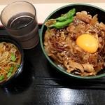ゆで太郎 - 得ランチ金曜日(2017/05)