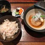 つろぎ - 海老の蓮根饅頭