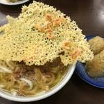 桃太郎本店 - 肉天 かしわめしセット