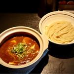 麺の坊 晴天 - 四川風豆腐つけ麺