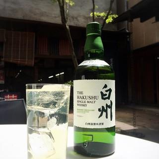 ◆オープン記念◆白州ウィスキーを【半額】の特別価格でご提供!