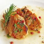 レストラン シマダ - 鶏胸肉の香草風味焼き
