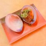 大衆酒場センベロ - 焼きハマグリ