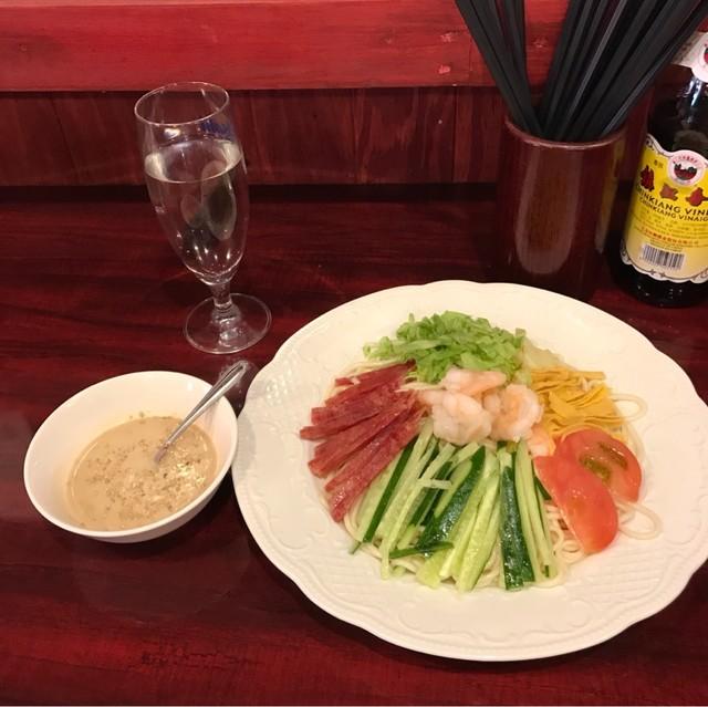 中国家庭料理 楊 別館 - 楊特製中華冷麺。 税込980円。 美味し。