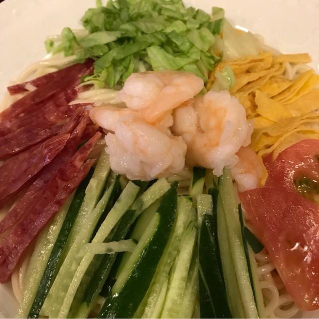 中国家庭料理 楊 別館 - 楊特製中華冷麺。 美味し。