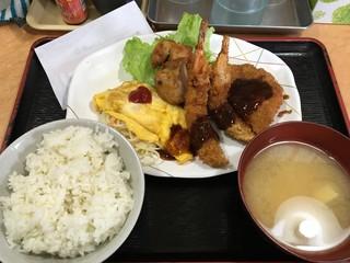 幸 - A定食