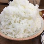 食事処 かずき - ご飯大盛りが凄い!
