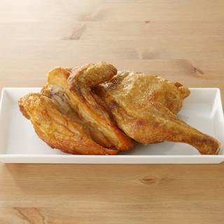 小樽名物「若鶏半身揚げ」
