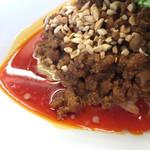 67107888 - 香菜汁なし坦々麺@激辛仕様