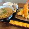 Koshikiteuchiudonsobadaruma - 料理写真:海老フライセット