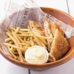 ハワイアンレストラン モアナキッチン - フィッシュ&チップス