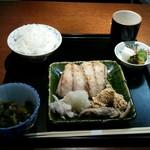 和の菜彩 さとう - 焼き魚定食(1200円)