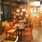 CAFE&FOODSBAR KOKOPELLI - 店内全景