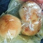パン酵房ナチュール - 料理写真:クリームパンとリンゴパン