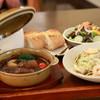修善寺 no 洋食屋 - 料理写真:自家製ポークシチューと本日のパスタ