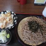 そば処 加美 - 料理写真:げそざる700円