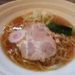 67114176 - 魚介醤油ラーメン730円