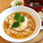24/7 cafe apartment  - 豆乳豆腐の湯葉あんかけ丼セット