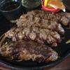 自家挽き炭焼きハンバーグ・ステーキ専門店 炭棟梁IORI - 料理写真:今回、食べたハンバーグ280gです。 前菜が食べ放題なので次回から250gが適量か?