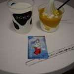 マザー牧場 milk bar - マンゴアイランド&アイスミルク~☆