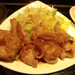 旬の鮮魚と京野菜 魚魚 - 生姜焼き