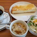 ユトリ珈琲店 - 料理写真:モーニング