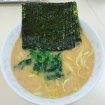 こうや - ラーメン650円麺硬め。海苔増し100円。