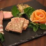 アンシャンテ - 料理写真:オードブルバリエ(盛り合わせ)