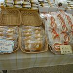 中島 - 焼ポテトやアーモンドリーフなど、1個から買える焼菓子も