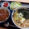 めん処ちどり - 料理写真:ミニカレーセット・うどん(500円)