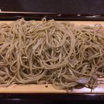 十割蕎麦みかあさ - 幻の富倉そばです。