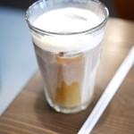 やなか珈琲店 - アイスミルクコーヒー