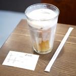 やなか珈琲店 - アイスミルクコーヒー R¥290