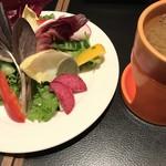 バル デリコ - バーニャカウダ ¥480-