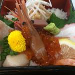 北川食堂 - 日替わり海鮮重