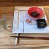 豊栄くらす - 料理写真:手仕込み前菜3種盛り  と 豊栄ごぼう茶